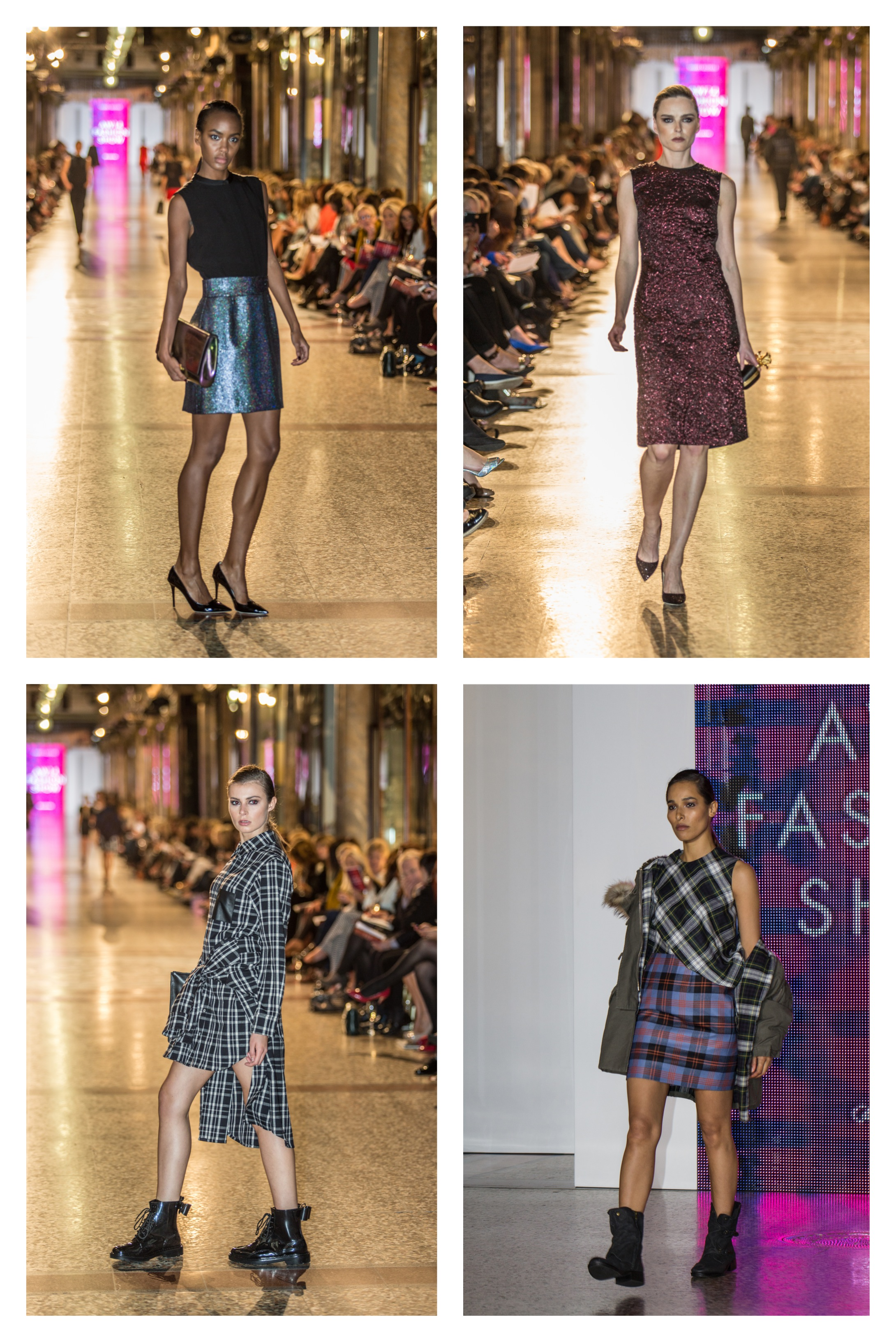 Harvey Nichols AW14 Fashion Show | A GIRL IN HER WALLED CITY