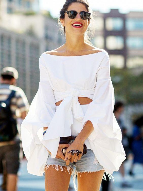 big sleeve style